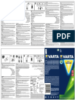 Varta 57610 Manual Daily