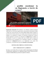 7.Tc y La Detencion en Flagrancia