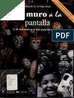 Del muro a la pantalla  S.M. Eisenstein y el arte pictórico mexicano