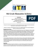 8th grade syllabus kyle