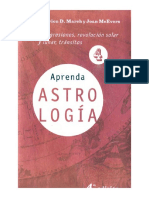 Aprenda Astrologia Volumen 4 Marion D March Y Joan Mcevers