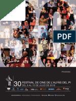 Programa de Mano_Festival de cine de Alfas Del Pi 2018