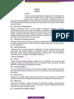 Upsc Optional Syllabus PHYSICS