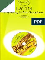 LATIN THEMES FOR ALTO SAXOPHONE