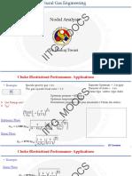 Nodal natural gas analysis