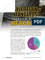 IEEE 400 Cable Testing Overview