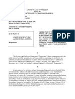 SEC Order Against Corix Bioscience, Inc. and Ogburn