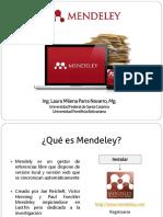 1. Usos, Instrucciones y Funciones de Mendeley