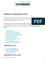 Fórmulas y Funciones de Excel • Excel Total