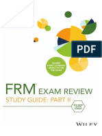 2019 Wiley FRM Part II Study Guide Sample