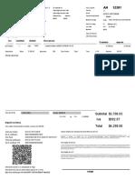 Documento factura