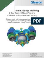 KISSsoft AG Training Courses KISSsoft and KISSsys Training 1562311456