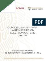 Beca Benito Juarez Guia de Usuario Sirel 2019