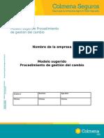 proced. gestion del cambio
