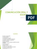 Comunicación Oral y Escrita