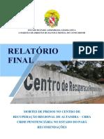 Relatório sobre o Massacre de Altamira da CDH-ALEPA