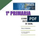 Comunicacion i. IV Bim