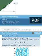 bayesed deep learning