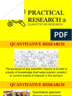 Lesson 1 - Quatitative Research