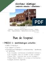 Hassouni Architecture Islamique Defis Actuels Maroc