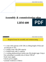 Assembly LHM 600HR, 58 m, Disassembled With Photos Add