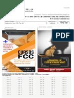 Ciencias contaveis FCc 2018