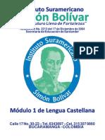 ISSIB001 Módulo 1 Lengua Castellana