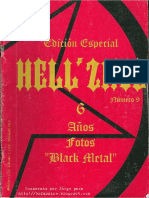 black metal - Hell´Zine issue 9-Edición Especial
