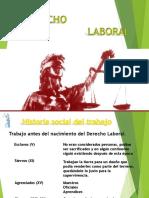 01.- El Derecho Laboral