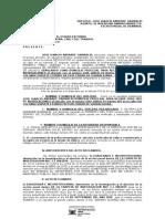 Amparo Dilación Procesal RESIDENT EVIL