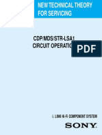 Cdp Mds Str Lsa1 Circuit Operation