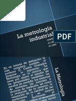 La metrología industrial