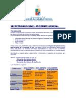 Curso Secretariado Nivel Asistente General
