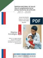 2. Objetivos Estratégicos 2011-2020