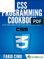 CSS Programming Cookbook