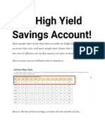 Best High Yield Savings Account