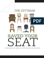 Saved Your Seat_ Taking Your Pl - Steve Dittmar