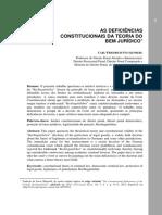 Carl-Friedrich Stuckenberg - As Deficiências Constitucionais