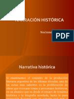 NARRACIÓN HISTÓRICA