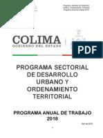 Desarrollo Urbano y Territorial Colima