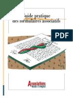 Guide Pratique Des Formulaires Associatifs