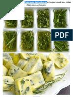 7. Congelez Des Glaçons d'Huile Avec Des Herbes