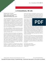 Oxford Handbook of Anaesthesia, 4th Edn.16