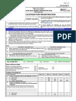 Revised Application for Registration-FM-CDC-MD-01 as of 2017 Sept 15