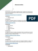 Manual de La Tortillería