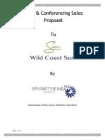 Hotel Conferencing Sales Proposal 2019