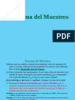 Teorema Del Muestreo Presentación
