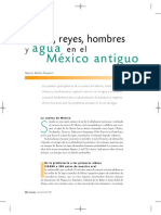 Dioses Reyes Hombres y Agua Mexico Antiguo - Beatriz Barba