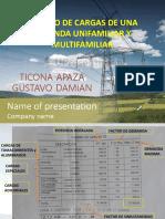 CUADRO DE CARGAS DE UNA VIVIENDA UNIFAMILIAR Y.pptx