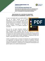 012. Indicadores de Desempeño Logístico - KPIs